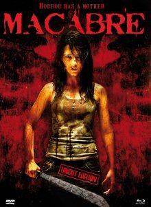 Macabre (Limited Uncut Edition, Blu-ray+DVD im Mediabook) (2009) [FSK 18] [Blu-ray]
