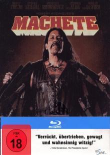 Machete (Uncut) (Steelbook, Erstauflage) (2010) [FSK 18] [Blu-ray]