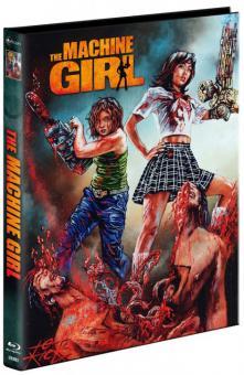 The Machine Girl (Limited Mediabook, Blu-ray+DVD, Cover B) (2008) [FSK 18] [Blu-ray]