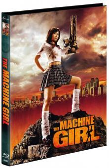 The Machine Girl (Limited Mediabook, Blu-ray+DVD, Cover C) (2008) [FSK 18] [Blu-ray]