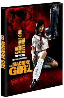 The Machine Girl (Uncut Edition Mediabook, Blu-ray+DVD) (2008) [FSK 18] [Blu-ray]