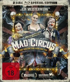 Mad Circus - Eine Ballade von Liebe und Tod (Special Edition) (2010) [FSK 18] [Blu-ray] [Gebraucht - Zustand (Sehr Gut)]
