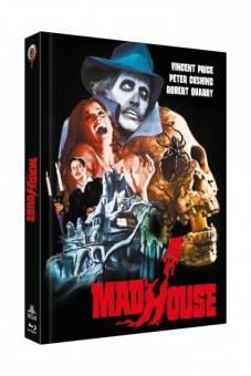 Madhouse - Das Schreckenshaus des Dr. Death (Limited Mediabook, Blu-ray+DVD, Cover A) (1974) [FSK 18] [Blu-ray]