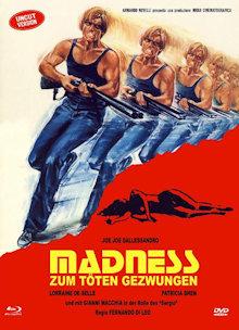 Madness - Zum töten gezwungen (Limited Mediabook, Blu-ray+DVD, Cover A) (1980) [FSK 18] [Blu-ray]