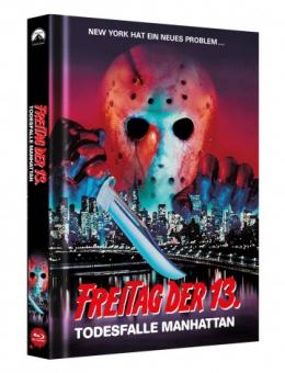 Freitag der 13. Teil 8 - Todesfalle Manhattan (Limited Mediabook, Cover B) (1989) [FSK 18] [Blu-ray]