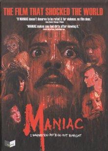 Maniac (3 Discs Mediabook, Cover C, Blu-ray+DVD) (1980) [FSK 18] [Blu-ray]