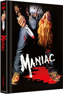 Maniac (6 Discs Mediabook, 4K Ultra HD+Blu-ray+DVD, Cover A) (1980) [FSK 18] [4K Ultra HD]