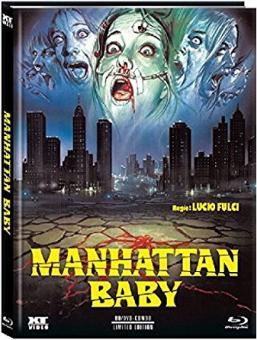 Amulett des Bösen (Manhattan Baby) (Limited Mediabook, Blu-ray+DVD, Cover D) (1982) [FSK 18] [Blu-ray]
