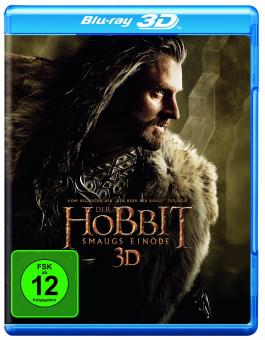 Der Hobbit: Smaugs Einöde (4 Discs, 3D Blu-ray+Blu-ray) (2013) [3D Blu-ray]