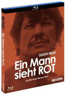 Ein Mann sieht rot - Death Wish (1974) [FSK 18] [Blu-ray]