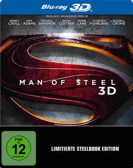 Man of Steel (Steelbook) (2013) [3D Blu-ray]