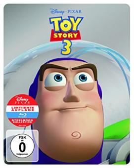 Toy Story 3 (2 Discs, Limited Steelbook) (2010) [Blu-ray]