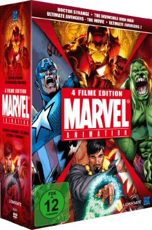Marvel Animation Vol. 1 (Doctor Strange, The Invincible Iron Man, Ultimate Avengers 1 & 2) (4 DVDs) (Limited Collector's Edition)