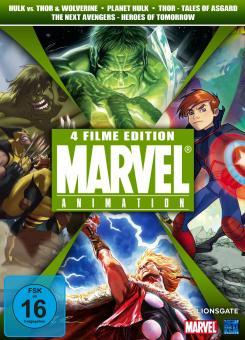 Marvel Animation Vol. 2 (Hulk vs. Thor & Wolverine, The Next Avengers, Planet Hulk & Thor - Tales of Asgard) (4 DVDs)