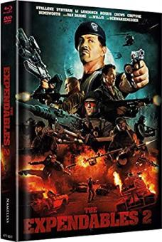 The Expendables 2 - Back for War (Limited Mediabook, Blu-ray+DVD, Cover A) (2012) [FSK 18]