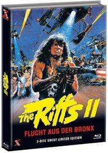 The Riffs 2 - Flucht aus der Bronx (Limited Mediabook, Blu-ray+DVD, Cover C) (1983) [FSK 18] [Blu-ray]