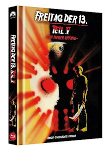 Freitag der 13. Teil 5 (Limited Collector's Edition Mediabook, Cover C) (1985) [Blu-ray]