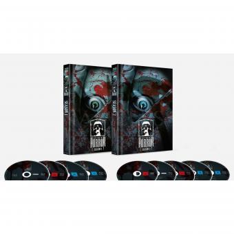 Masters of Horror Staffel 1+2 (Limited Mediabook, 9 Discs, Artwork Cover) (2005) [FSK 18] [Blu-ray]