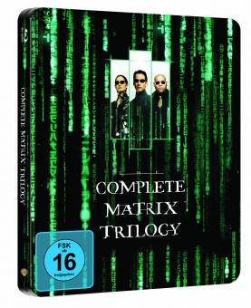 Matrix - The Complete Trilogy (Steelbook) (3 Discs) [Blu-ray]