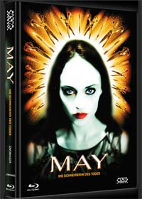 May - Die Schneiderin des Todes (Limited Mediabook, Blu-ray+DVD, Cover A) (2002) [FSK 18] [Blu-ray]