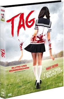 Tag (Limited Mediabook, Blu-ray+DVD, Cover B) (2015) [FSK 18] [Blu-ray]