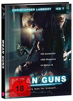 Mean Guns (Limited Mediabook, Blu-ray+DVD, Cover B) (1997) [FSK 18] [Blu-ray]