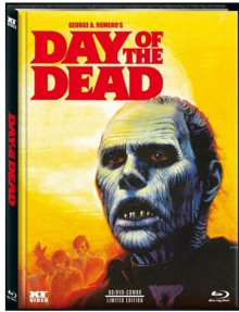 Day of the Dead (Limited Mediabook, Blu-ray+DVD, Cover B) (1985) [FSK 18] [Blu-ray]