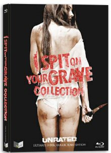 I Spit on your Grave Collection (3 Disc Limited Mediabook, Uncut) [FSK 18] [Blu-ray]
