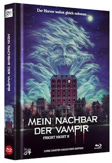Fright Night 2 - Mein Nachbar, der Vampir (Limited Mediabook, Blu-ray+DVD) (1988) [FSK 18] [Blu-ray]