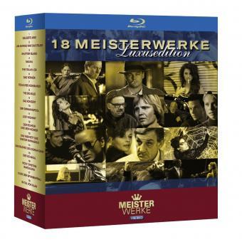 18 Meisterwerke in HD - Luxusedition [Blu-ray]