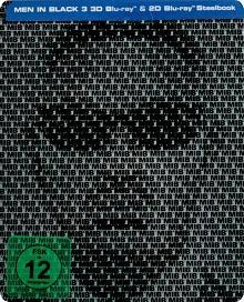 Men in Black 3 (3D Blu-ray+2D Blu-ray, Steelbook) (2012) [3D Blu-ray]