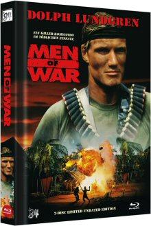 Men of War (Uncut Limited Mediabook, Blu-ray+DVD) (1994) [FSK 18] [Blu-ray]
