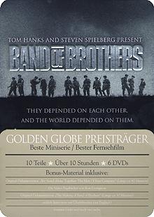 Band of Brothers - Wir waren wie Brüder, Die komplette Serie (6 DVDs, Metalbox) (2001) [FSK 18]
