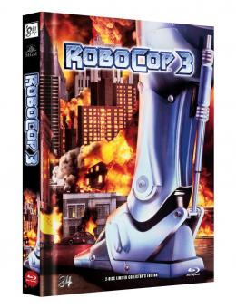 Robocop 3 (Limited Mediabook, Blu-ray+DVD, Cover B) (1993) [Blu-ray]