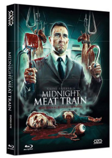 Midnight Meat Train (Unrated Director's Cut, Mediabook, DVD+Blu-ray, Cover E) (2008) [FSK 18] [Blu-ray]