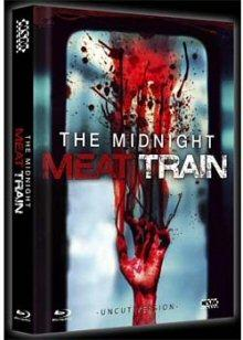 Midnight Meat Train (Unrated Director's Cut, Mediabook, DVD+Blu-ray, Cover A) (2008) [FSK 18] [Blu-ray]