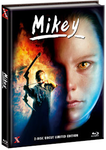 Mikey (Limited Uncut Mediabook, Blu-ray+DVD, Cover A) (1992) [FSK 18] [Blu-ray]