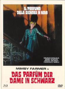 Das Parfüm der Dame in Schwarz (Limited Mediabook, Blu-ray+DVD, Cover B) (1974) [FSK 18] [Blu-ray]