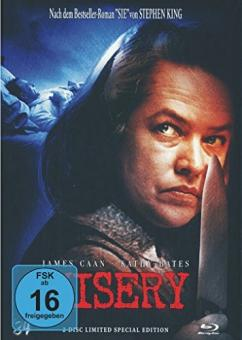Misery (Limited Mediabook, Blu-ray+DVD, Cover C) (1990) [Blu-ray]