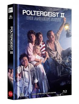 Poltergeist 2 - Die andere Seite (Limited Mediabook, Blu-ray+DVD, Cover B) (1986) [Blu-ray]