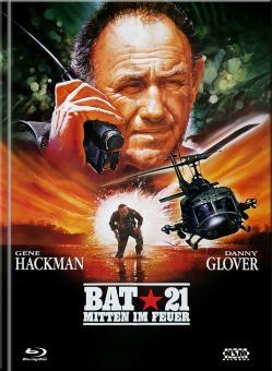 Bat 21 - Mitten im Feuer (Limited Mediabook, Blu-ray+DVD, Cover A) (1988) [Blu-ray]