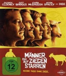 Männer, die auf Ziegen starren (2009) [Blu-ray]