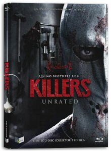 Killers - In jedem von uns steckt ein Killer (Limited Mediabook Edition, Blu-ray+DVD, Cover B) [FSK 18] [Blu-ray]