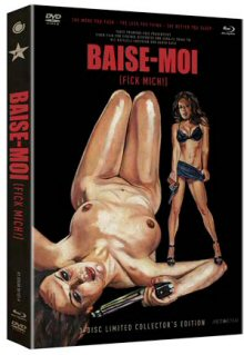 Baise Moi (Limited 3 Disc Mediabook, Blu-ray+DVD, Cover B) (2000) [FSK 18] [Blu-ray]