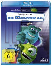 Die Monster AG (2 Disc Set) (2001) [Blu-ray]