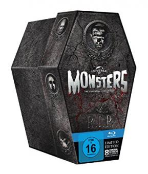 Monsters Collection (Limited Edition, 8 Discs) [Blu-ray]