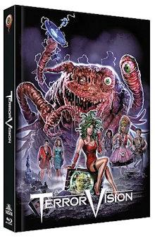 Terror Vision (Limited Mediabook, Blu-ray+DVD, Cover B) (1986) [FSK 18] [Blu-ray]