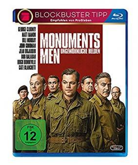 Monuments Men - Ungewöhnliche Helden (2014) [Blu-ray]