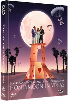 Honeymoon in Vegas (Limited Mediabook, Blu-ray+DVD, Cover B) (1992) [Blu-ray]