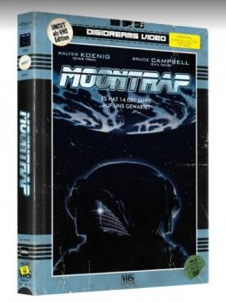 Moontrap (Limited Mediabook, VHS Edition, Blu-ray+DVD) (1989) [Blu-ray]